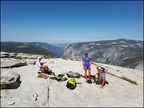 10-Summit-Half Dome-Snake dike-20180701 103518 by Thomas