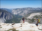 10-Summit-Half Dome-Snake dike-20180701 105823 by Thomas