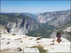 10-Summit-Half Dome-Snake dike-20180701 105825 by Thomas